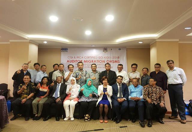 دوره سرممیزی بین المللی تبدیلی ISO 45001-اندونزی